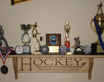 HOCKEY What's not to love?  -  Trophy Shelf