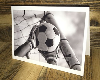 Soccer Photo Greeting Card