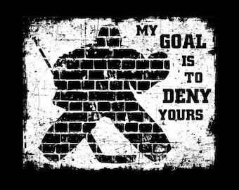 My Goal is to Deny Yours - Canvas Art
