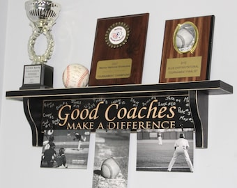 Good Coaches Make a Difference - Shelf