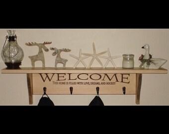 Hockey Decor,Hockey Signs,Hockey Gift,Hockey Mom,Hockey Gifts,Hockey Sign,Hockey Shelf,Hockey,Hockey Wall Decor,Hockey Coach Gift,Puck