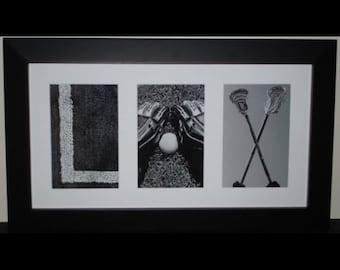 """""""LAX"""" Letter Art Frame"""