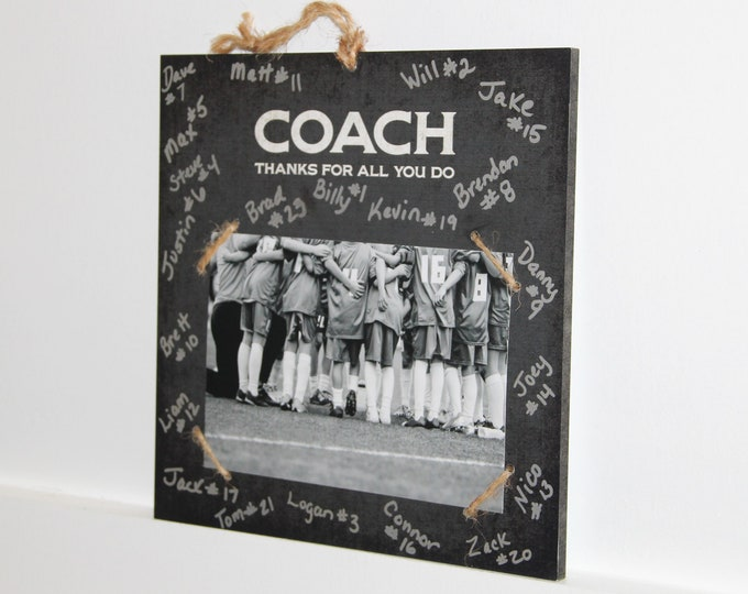 Featured listing image: COACH  -  Thanks for all you do -  Photo/Sign