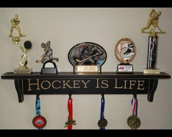 Hockey is Life - Trophy Shelf