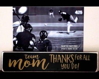 Baseball Team Mom Gift,Team Mom Gift,Coach Gift,Baseball Mom,Baseball Gift,Baseball Team Gift,Baseball Team,Baseball,Gift for Team Mom