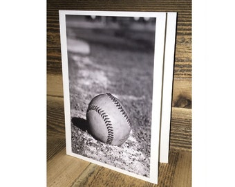Baseball Photo Greeting Card