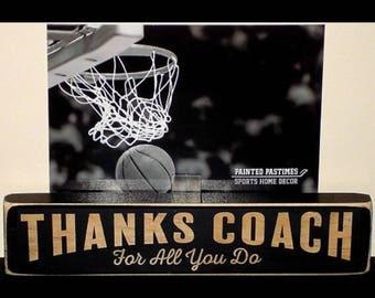 Basketball Coach - Photo Sign