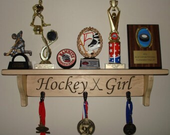 Hockey Girl  -  Trophy Shelf