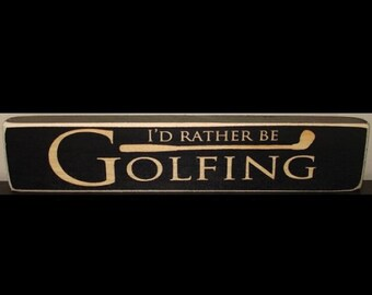 Golf Decor
