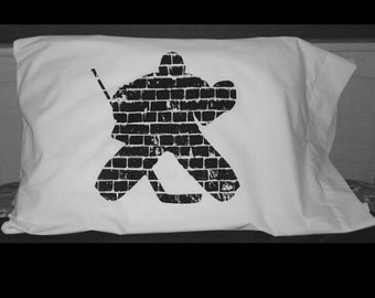 Hockey Goalie Pillowcase