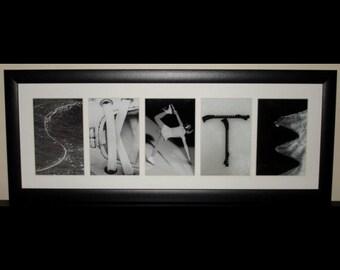 """""""SKATE"""" - Figure Skating Word Art Frame"""