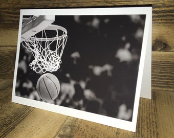 Basketball Photo Greeting Card