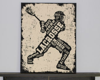 Lacrosse Canvas Art