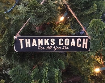 Thanks Coach For all that you do