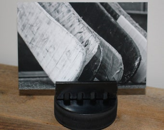 Hockey Puck Photo Display