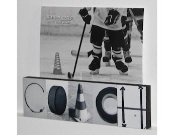"""COACH"" Montage Photo/Sign"