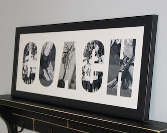 COACH Matted Frame