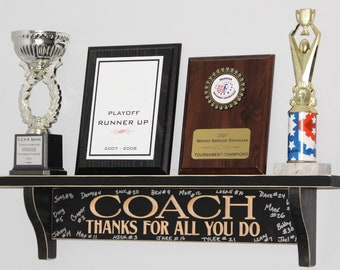 COACH Thanks for all you do  - Trophy Shelf
