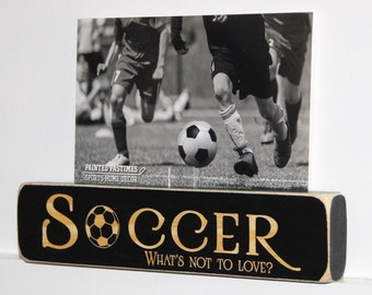 SOCCER What's not to love? - Photo/Sign