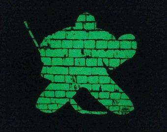 Hockey Goalie Pillowcase - Glow in the Dark