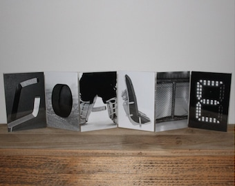 """""""GOALIE"""" - Letter Art Frame"""