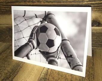Soccer Photo Greeting Card