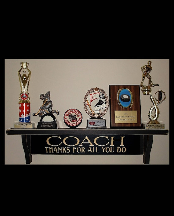 COACH Thanks for all you do  -  Trophy Shelf