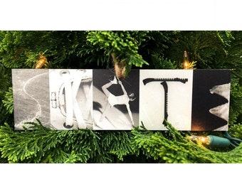 """SKATE"" Montage Ornament/Sign"