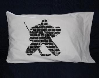 Hockey Goalie Pillowcase