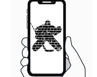 Hockey Goalie - Decal