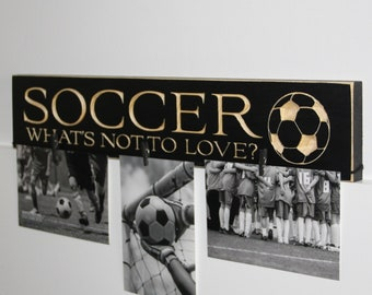 SOCCER What's not to love? - Sign