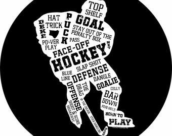 Hockey Spare Tire Cover