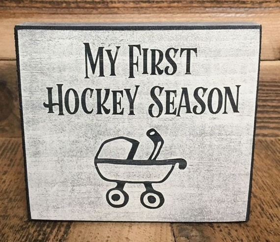 My First Hockey Season  - Ornament