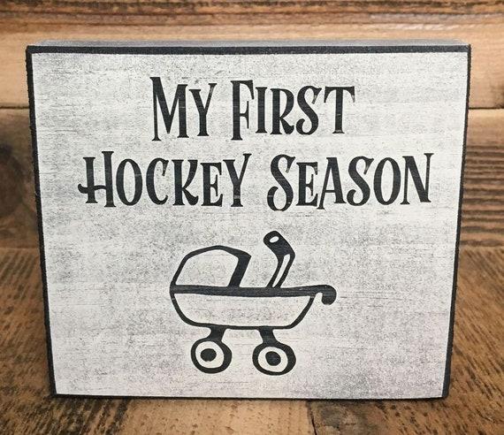 My First Hockey Season  - Sign