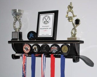 Hockey Puck Shelf