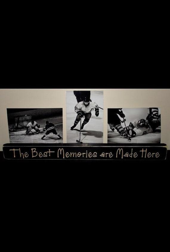 Hockey - Triple Photo Sign