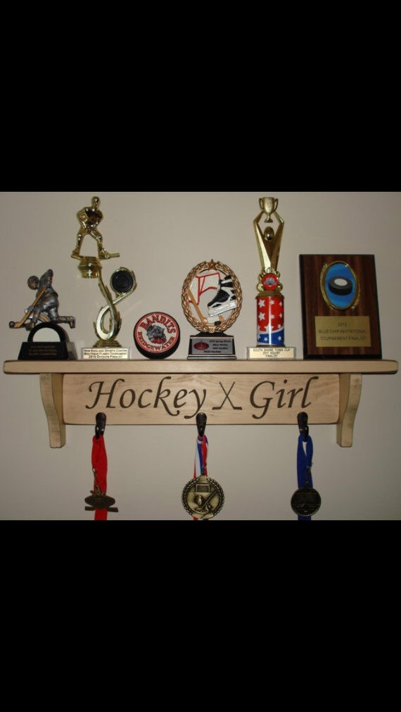 Hockey Girl  -  Trophy Shelf