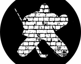 Hockey Goalie Spare Tire Cover