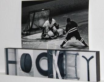 """HOCKEY"" Montage Photo/Sign"