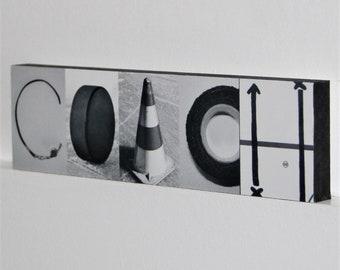COACH Montage Sign