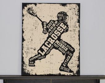Lacrosse Canvas Art