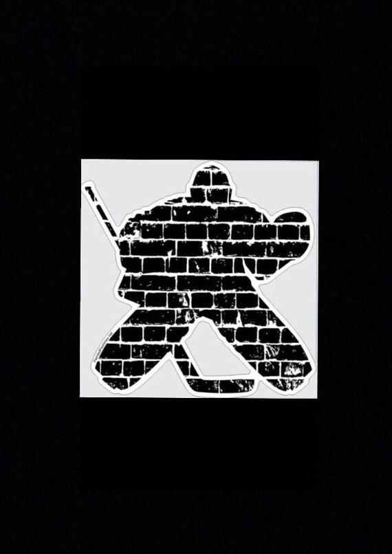 Hockey Goalie Decal