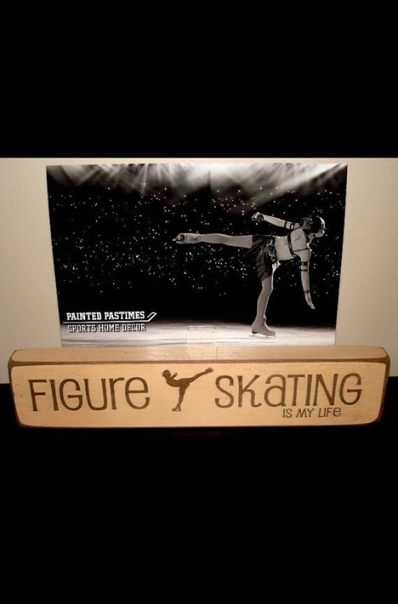 Figure Skating is my life  -  Photo Sign