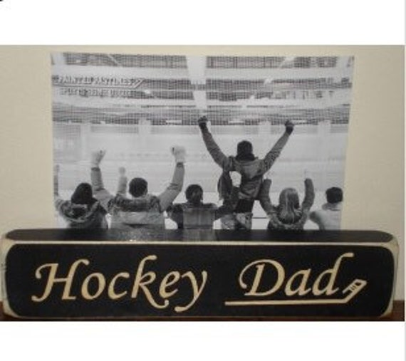 Hockey Dad - Photo Sign