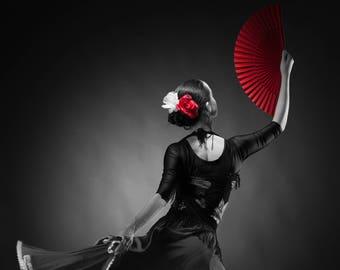 Selective Color Black & White Photo