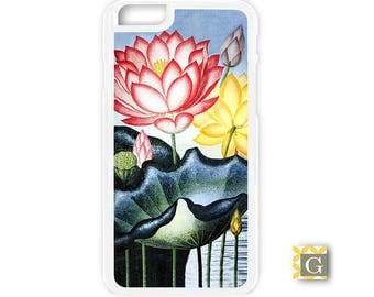 Galaxy S8 Case, S8 Plus Case, Galaxy S7 Case, Galaxy S7 Edge Case, Galaxy Note 5 Case, Galaxy S6 Case - Vintage Lotus