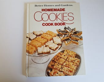 Vintage Better Homes and Gardens Cookies Cook Book 1975 Recipes