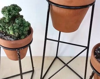 Metal Plant Stand Etsy