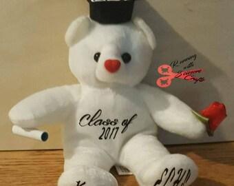 Graduation Bear, Graduation Gift, Custom Gift, Graduation, Teddy Bear,  Custom, Gifts, High School Graduation, College Graduation, Cards