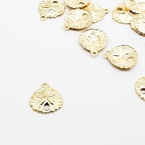 14k Gold Filled Charm Star of David USA 3 Pieces 9mm Lightweight